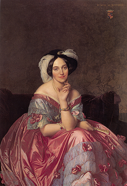 Betty Salomon de Rothschild - par Ingres
