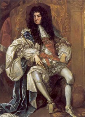 Portrait de Charles II Stuart - par Thomas Hawker vers 1680 National Portrait Gallery à Londres