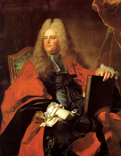 Guillaume II de Lamoignon - par Hyacinthe Rigaud - 1716 - Collection privée