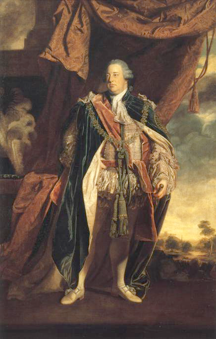 William Augustus de Grande-Bretagne - Portrait par Joshua Reynolds - 1758